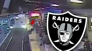 Oakland Raiders Honoring Train Hero Before Thursday Night Football