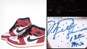 Michael Jordan's Ultra-Rare, Signed AJ1's For Auction, Could Sell For $600K