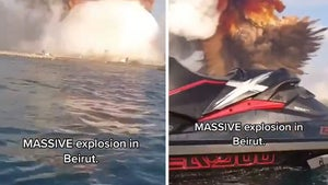 Beirut Jet Ski Video Shows Dramatic Perspective of Massive Explosion