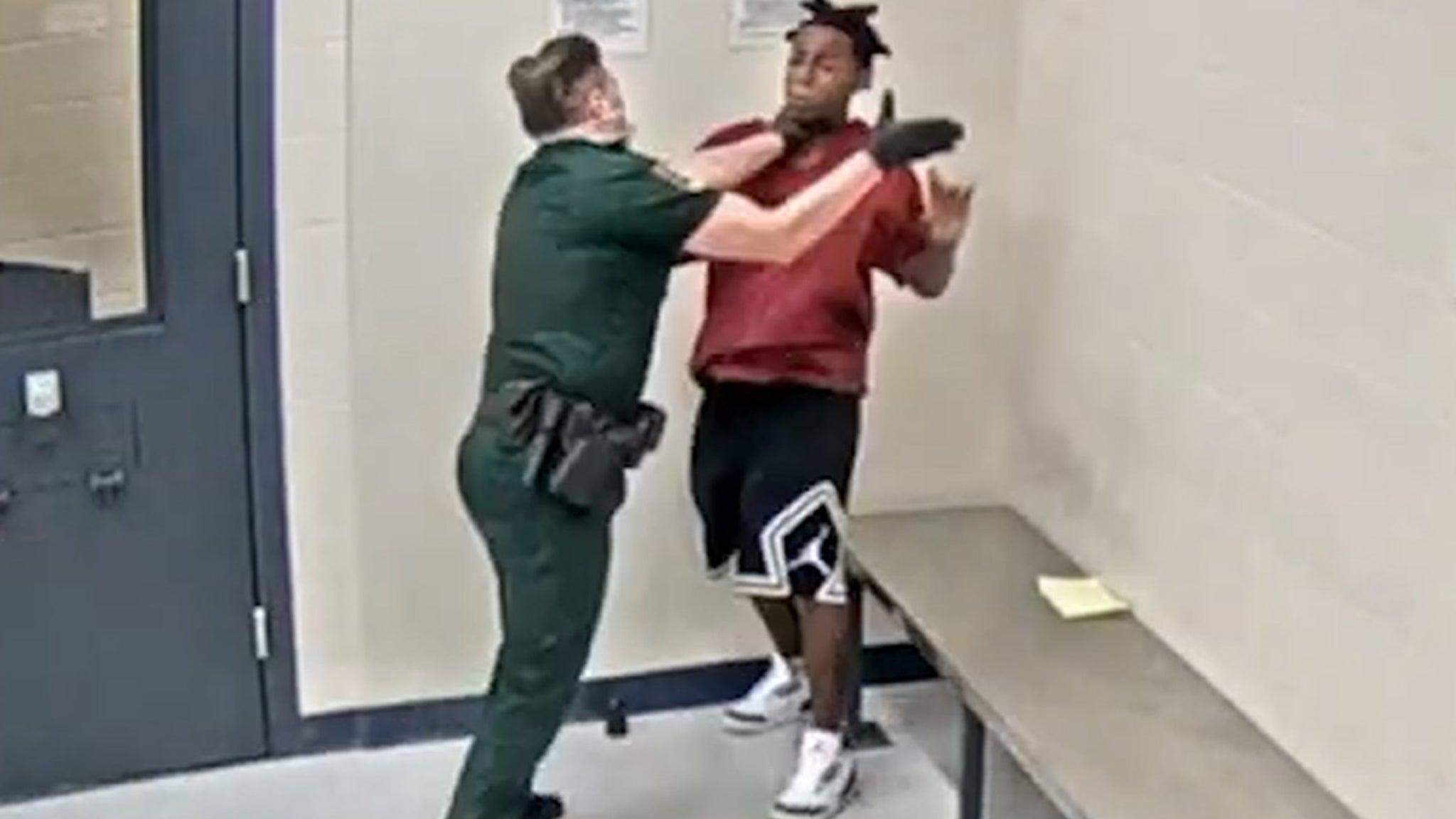 Black Lives Matter Teen Choked, Struck by Deputy ... Investigation Underway