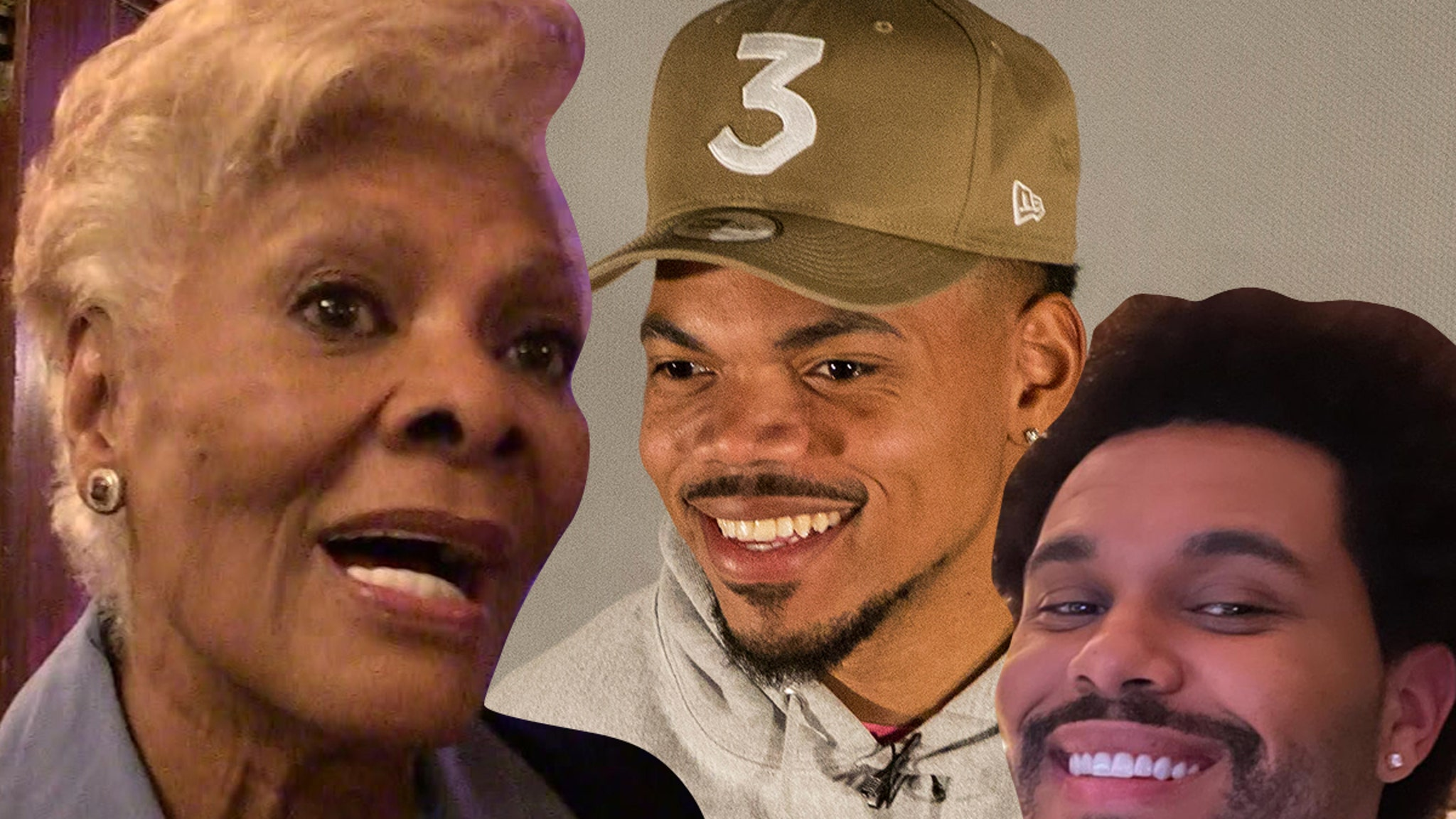 Dionne Warwick, Chance, Weeknd Helping Feed Hungry with Song Collab - TMZ