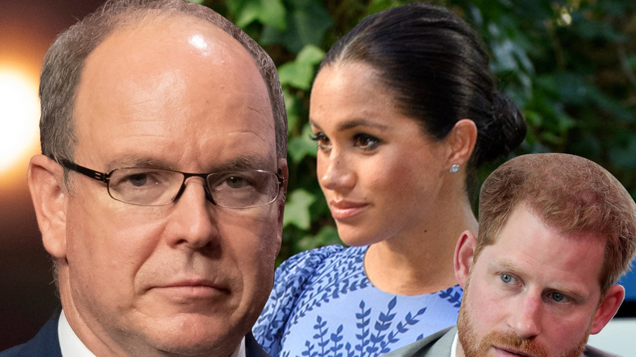 Prince Albert Calls Out Meghan Markle Prince Harry for Oprah Interview – TMZ