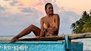 Dania Ramirez Bikini-Clad Vacay