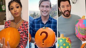 Celebrity Pumpkin Pics -- Gourd Lookin'!