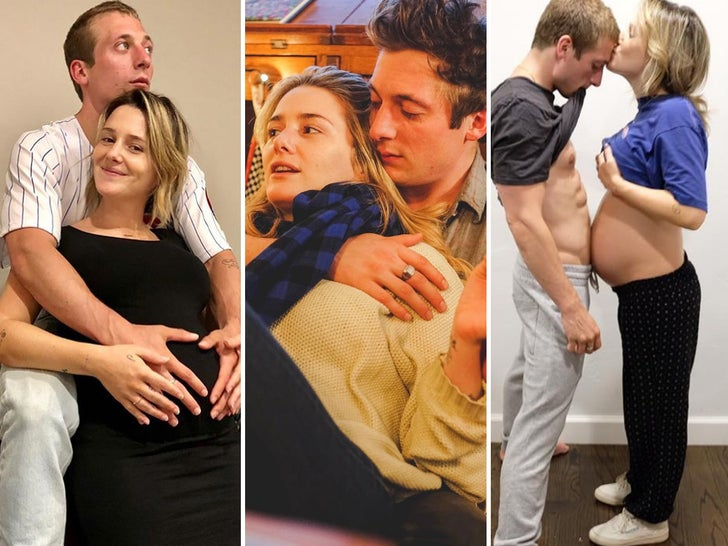 Jeremy Allen White and Addison Timlin Together