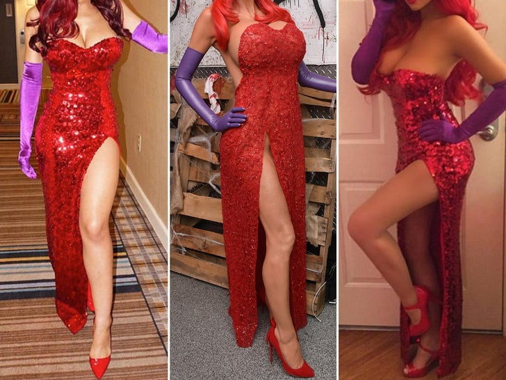 Jessica Rabbit Costumes -- Guess Who!