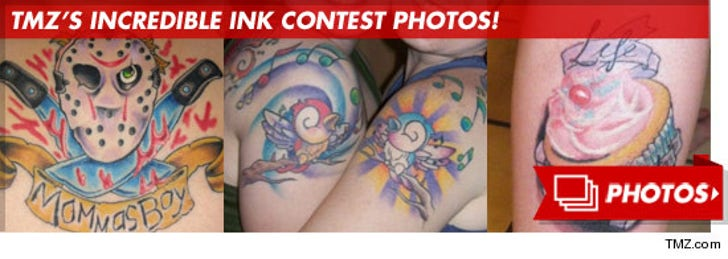 TMZ's Incredible Ink Contest