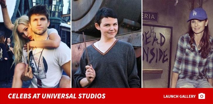 Celebrities at Universal Studios
