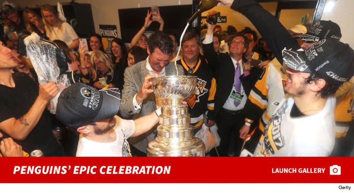 Pittsburgh Penguins' Epic Stanley Cup Celebration