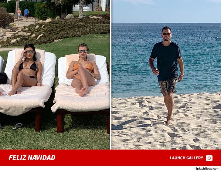 Kourtney Kardashian, Sofia Richie and Scott Disick all enjoy a family pre-Christmas vacation in Mexico