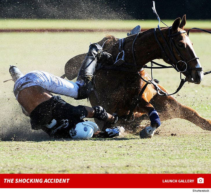 Federico Ronnie -- Scary Accident During Polo Match