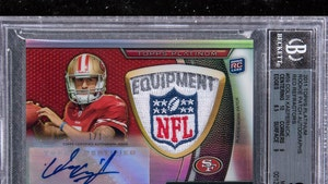 Colin Kaepernick Collector Auctions Rare Card, Splits Profits with QB's Charity