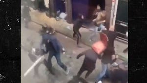 Netherlands Crazy Fight Video Shows Everything in Sight Hurled