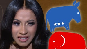 Cardi B Encouraged by GOP Not to Be Intimidated By Cancel Culture