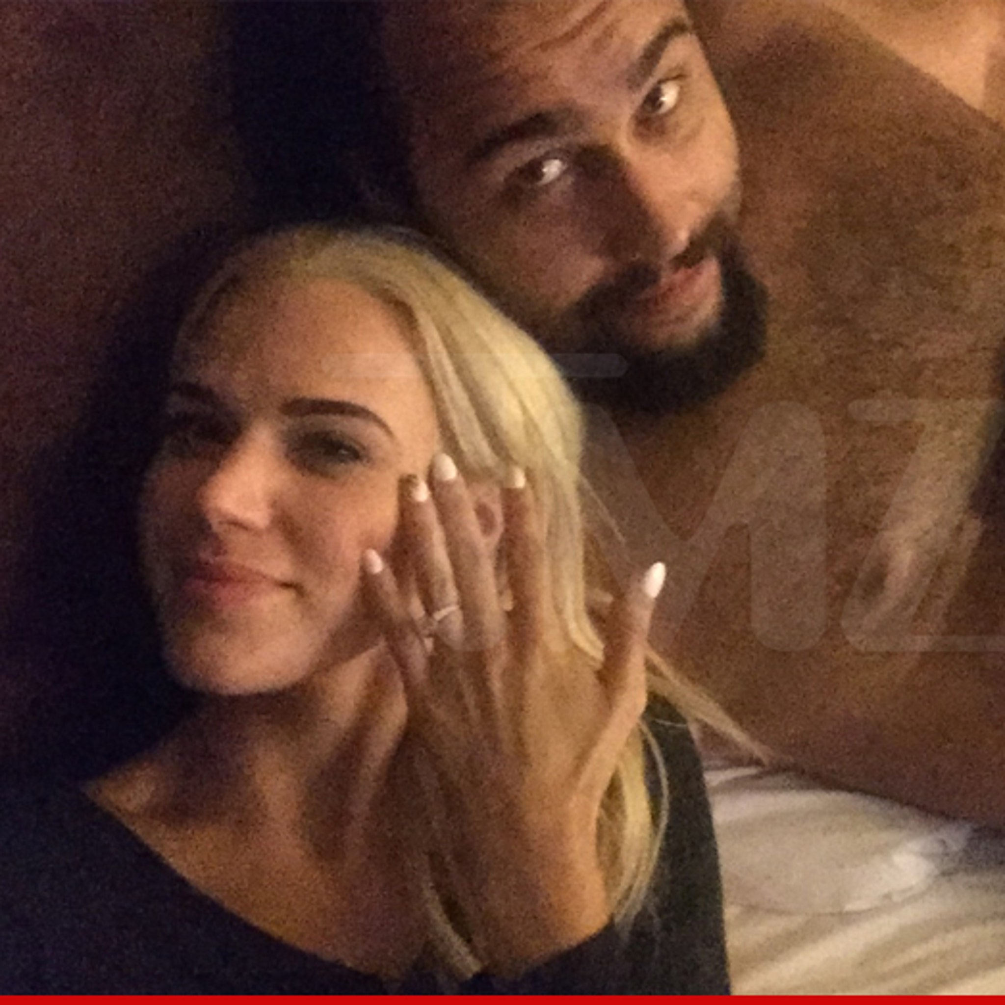 WWE Blamed Lana For Leaked Engagement Photo With Rusev 138