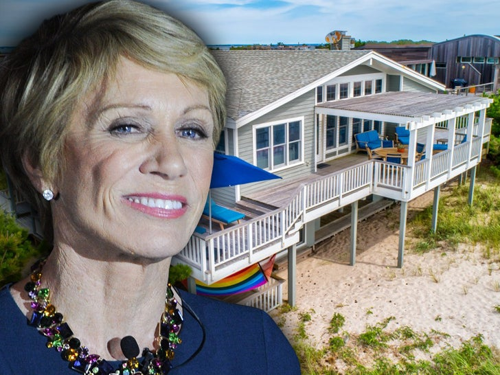 Barbara Corcoran's Beach House -- My House is Fire