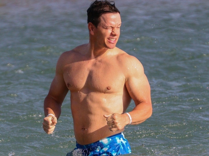 Mark Wahlberg's Shredded Shots