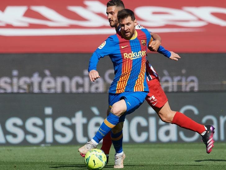 Lionel Messi On Barcelona
