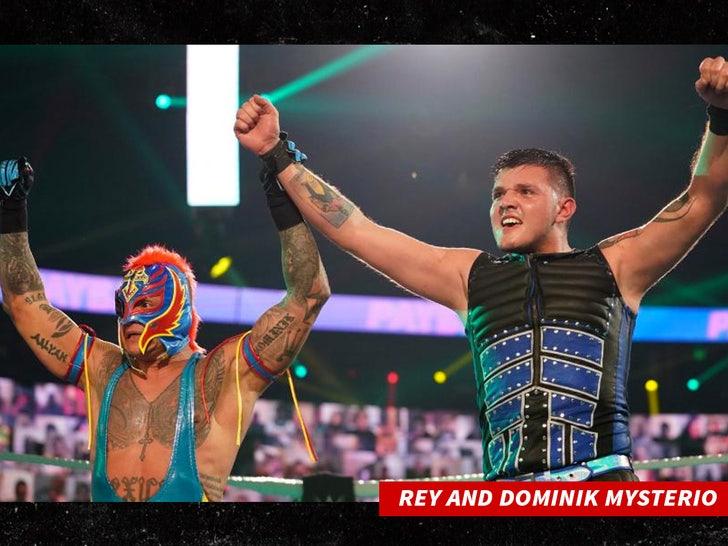 rey mysterio and Dominik Mysterio