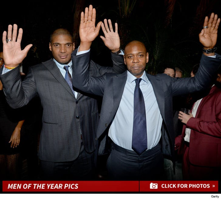 Michael Sam & Dave Chappelle -- Hands Up, Don't Shoot