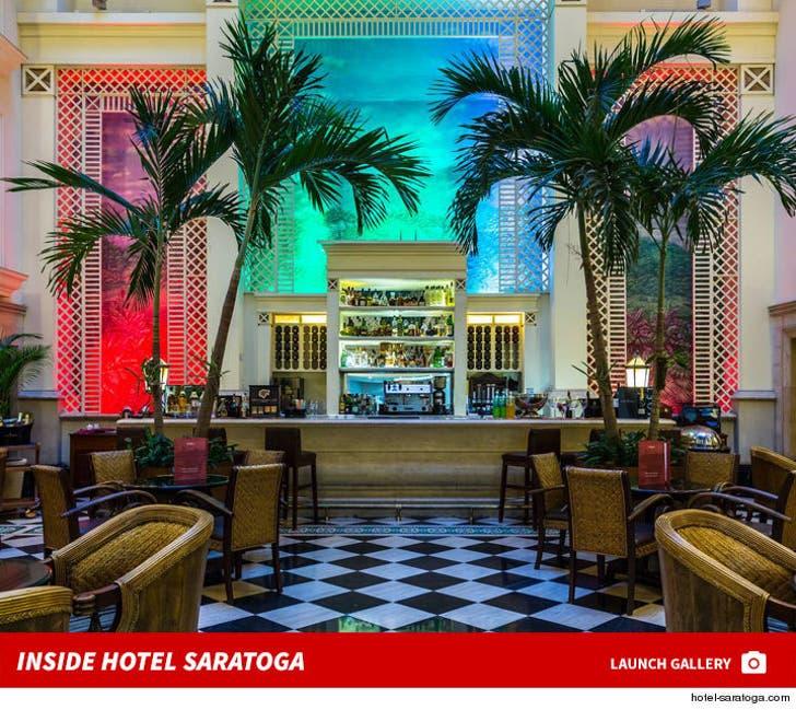 Inside Hotel Saratoga