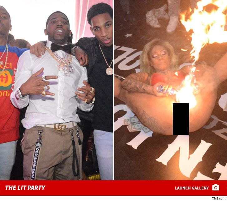 YFN Lucci's LIT Birthday Party