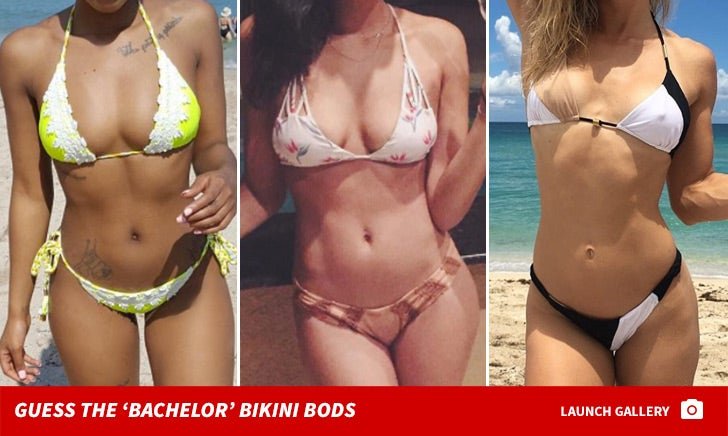 'Bachelor' Bikini Bods -- Guess Who!