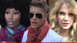 Justin Bieber, Nicki Minaj & Taylor Swift -- Smells Like a Rip-Off ... Perfume Co. Sues Over Celeb Fragrances