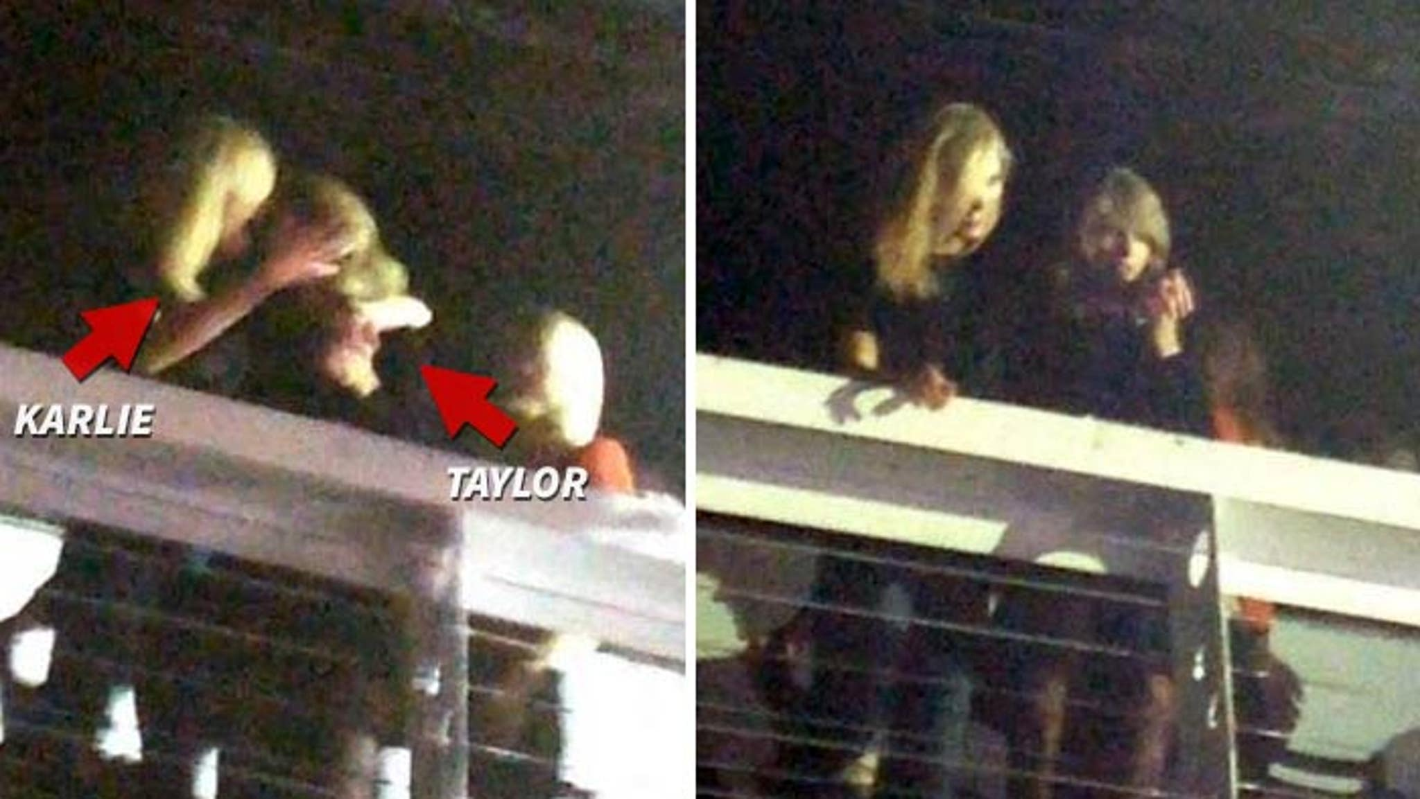 Taylor Swift Totally Kissing Karlie Kloss Maybe Photos