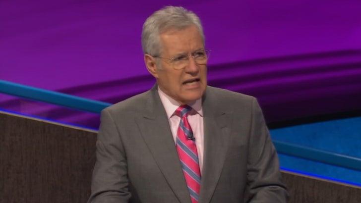Alex Trebek Drops Bars On 'Jeopardy!'