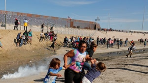 Tear Gas Thrown at Migrants, Kids as U.S. Closes CA-Mexico Border Crossing