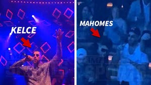 Patrick Mahomes, Travis Kelce & Chiefs Keep Partying in Vegas
