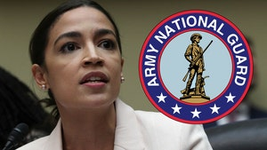 AOC Offers Her Office to National Guard, After Members Were Sent to Cold Parking Garage