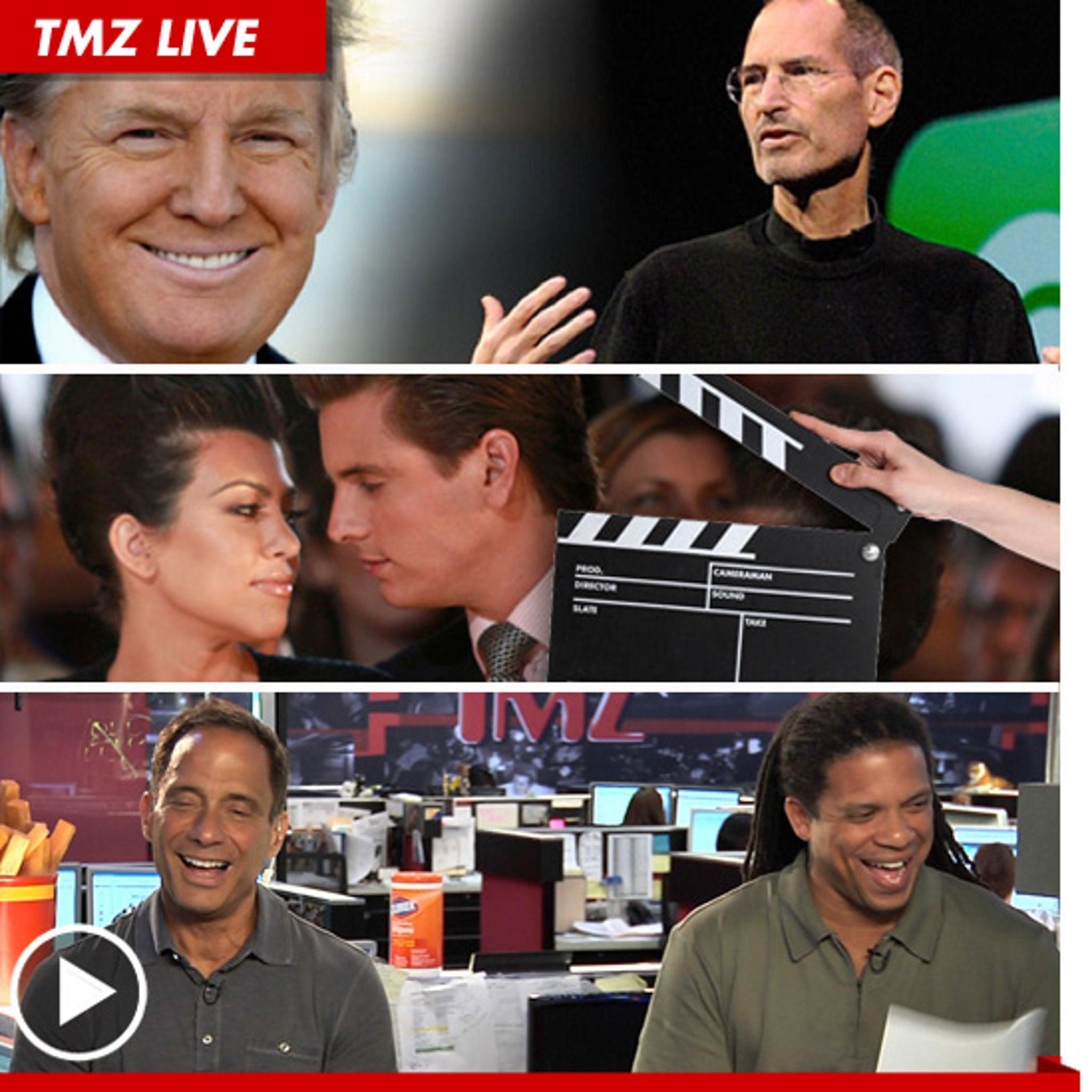 TMZ Live -- Donald Trump Interview: Steve Jobs 'Almost' Irreplaceable