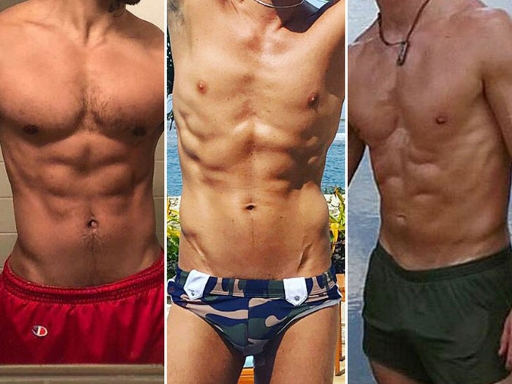 'Big Brother' Hot Bods -- Guess Who!