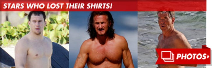 Stars Who Lost Their Shirts!