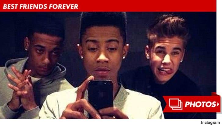 Justin Bieber, Lil Za and Lil Twist -- Best Friends Forever