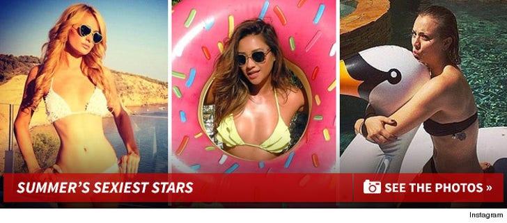 Summer's Sexiest Stars -- The Steamy Stockpile