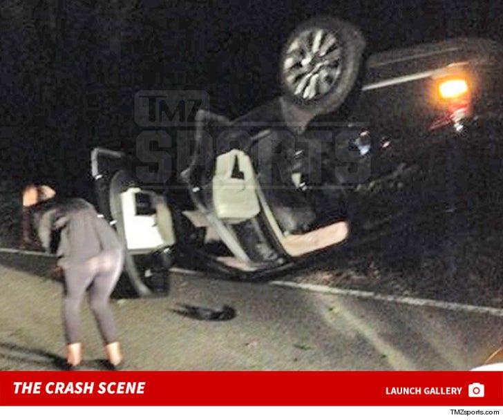 Abby Wambach Car Crash