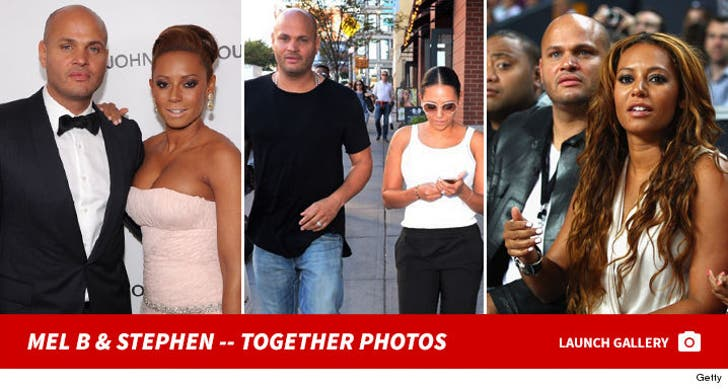 Mel B and Stephen Belafonte - Together Photos