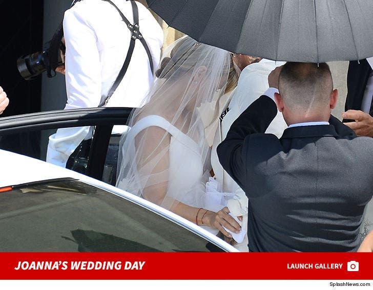 Joanna Krupa Marries Beau Douglas Nunes in Poland