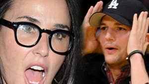 Demi Moore and Ashton Kutcher Divorce -- Big Hang Up Is Money