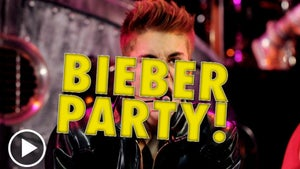 Justin Bieber -- Let's Party!! Just Sign Here, Please