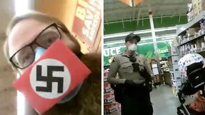 CA Couple Wears Swastika Face Masks, Call Gov. Newsom a Nazi