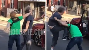 Road Rage Incident in Philly Erupts with Fists Flying, Young vs Old