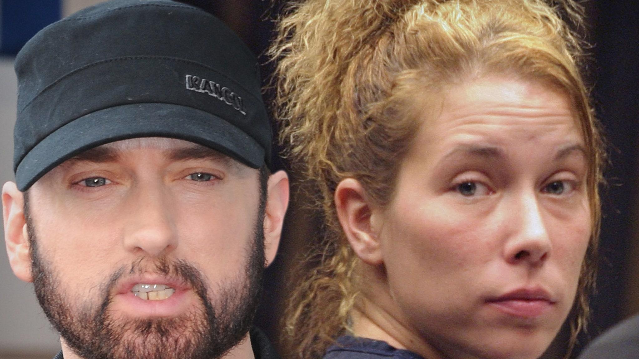 Eminem's Ex-Wife, Kim Scott, Hospitalized for Suicide Attempt thumbnail