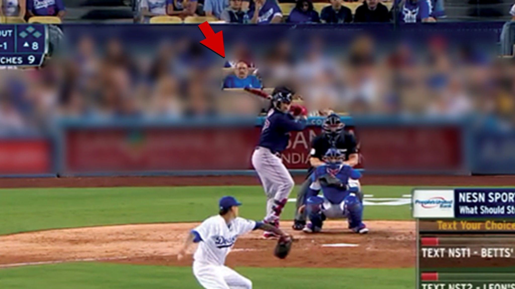 Most Wanted Fugitive Possibly Spotted Behind Home Plate At Dodgers Game - TMZ
