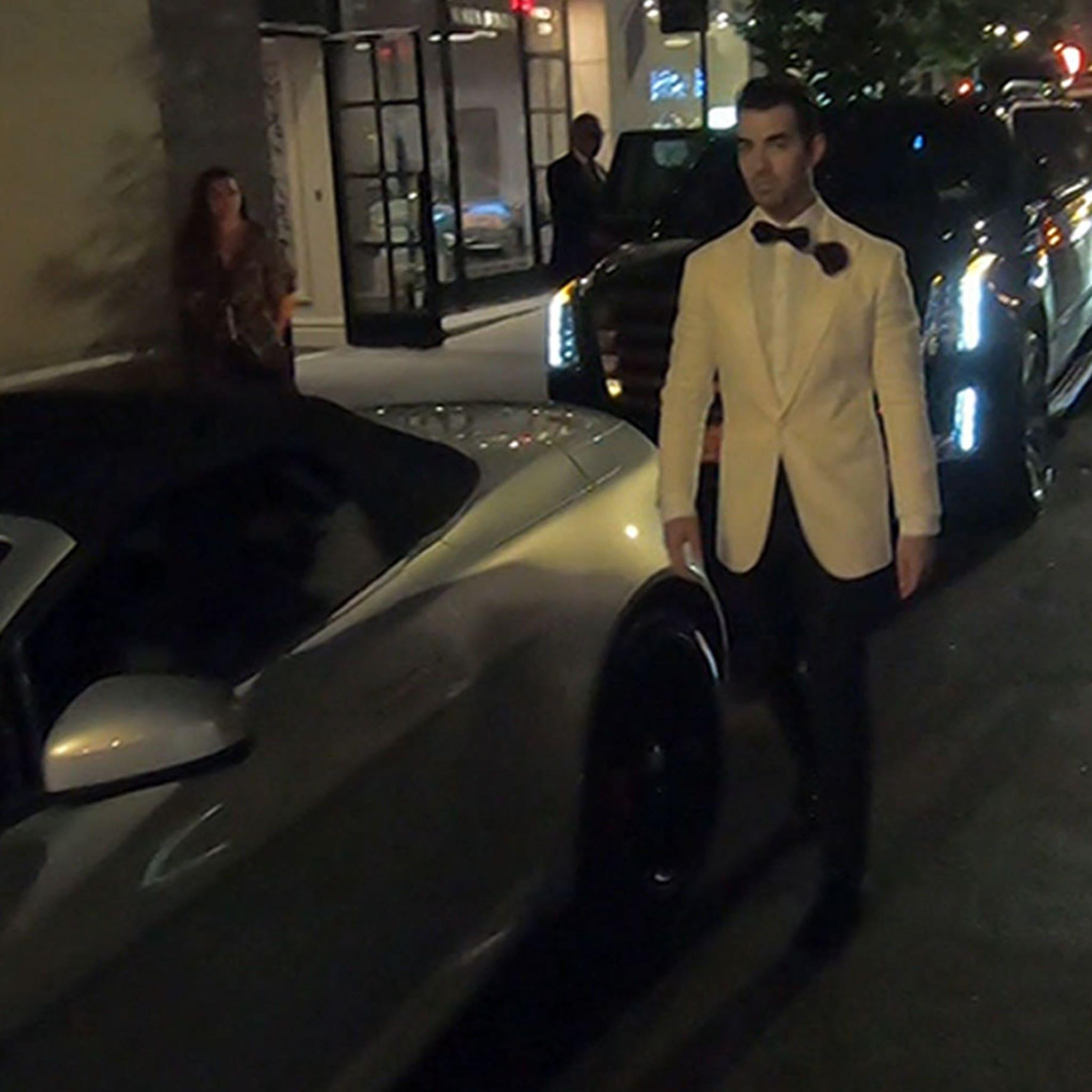 Joe Jonas Dressed as James Bond for His 30th Birthday