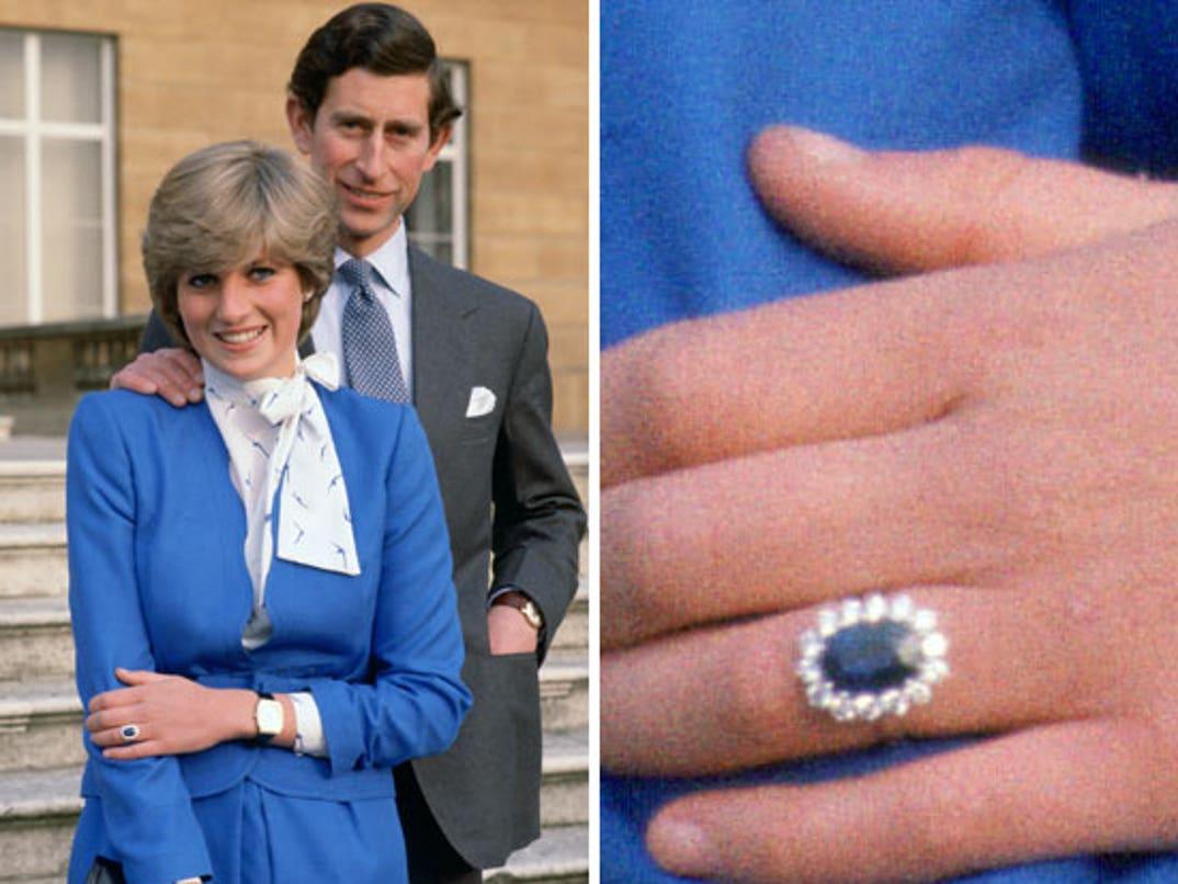 Kate Middleton S Engagement Ring Princess Diana S