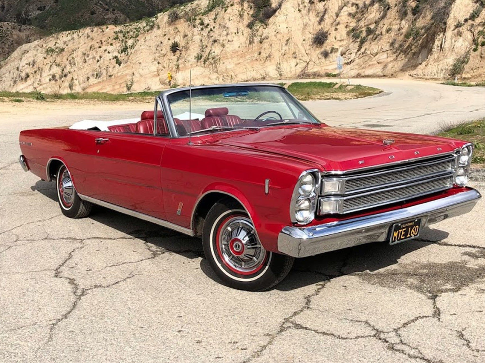 Hugh Laurie S Old Car Hits The Market 1966 Ford Galaxie Convertible